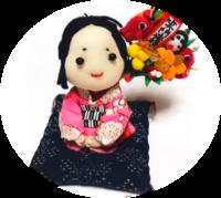 2018年11月23日(金)〜25日(日)じぞうもじとちびぐるみのコラボ展