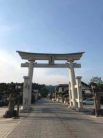 山形南陽市、熊野大社へ